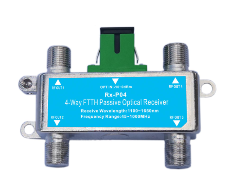 4-Way FTTP Passive Optical Receiver