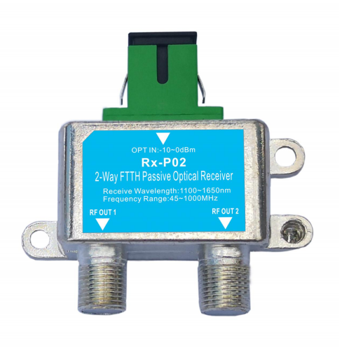 2-Way FTTH Passive Optical Receiver Rx-P02